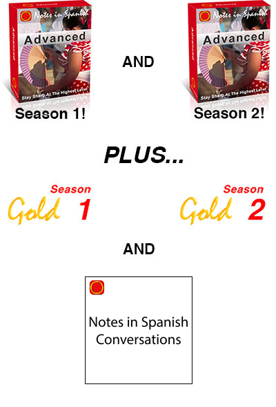 The Notes in Spanish Advanced Premium Pack