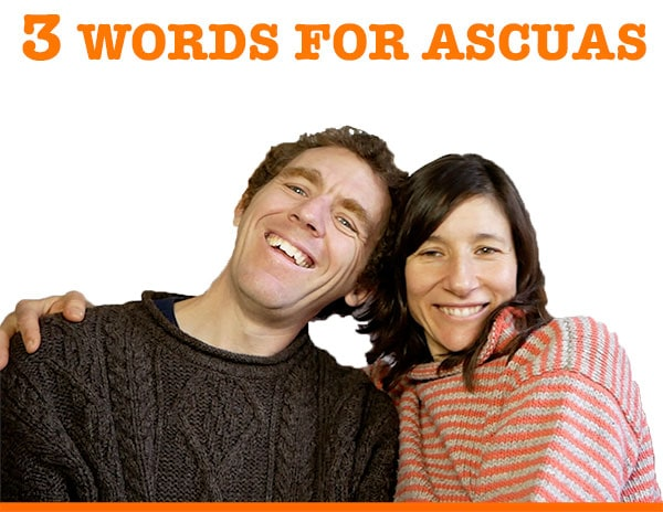 3 Words for Ascuas