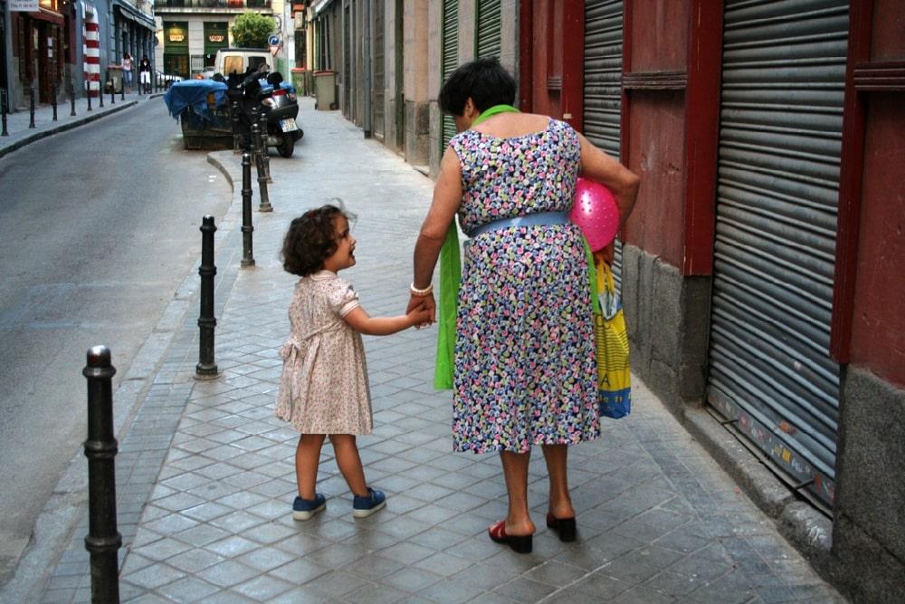 Backstreets of La Latina, Madrid